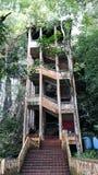 Caverne du Bornéo Image libre de droits