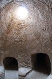 Caverne en Chypre photo stock