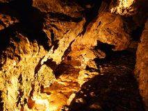 Caverne en cristal Kobelwald ou matrice Kristallhöhle Kobelwald Kristallhohle Kobelwald ou Kristallhoehle Kobelwald photo stock