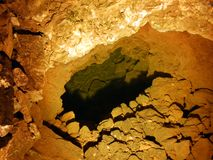 Caverne en cristal Kobelwald ou matrice Kristallhöhle Kobelwald Kristallhohle Kobelwald ou Kristallhoehle Kobelwald photographie stock libre de droits