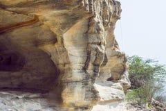 Caverne en pierre Photographie stock