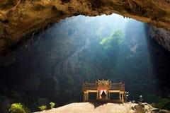 Caverne enchantée Photos stock