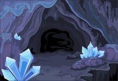 Caverne féerique Images libres de droits