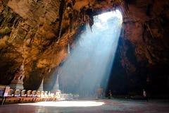 Caverne légère Image libre de droits