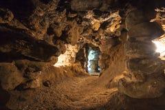Caverne Mechowo - en Pologne. Image libre de droits