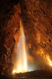 Caverne - ouïe bouche bée, Yorkshire, R-U Photos libres de droits