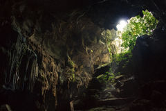 Caverne - Phong Nha KE frappent photographie stock