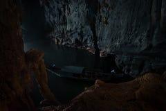 Caverne - Phong Nha KE frappent Images libres de droits