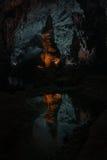 Caverne - Phong Nha KE frappent Photo stock