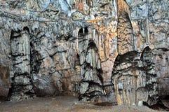 Caverne Postojna Photos libres de droits