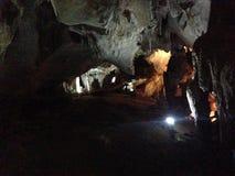 Caverne pour l'étude Photos stock