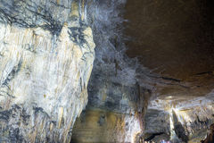 Caverne près de Chachapoyas, Pérou Photographie stock