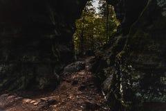 Caverne rampante Image libre de droits