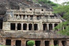 Caverne scolpite fotografie stock