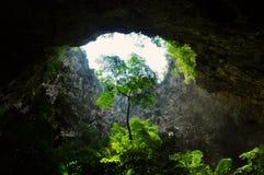 Caverne stupéfiante du ` s de la Thaïlande photo libre de droits