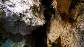 Caverne Thaïlande de Phra Nang banque de vidéos