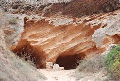Cavernes Images libres de droits