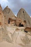 Cavernes antiques dans Goreme, Cappidocia Image libre de droits