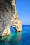 Cavernes bleues Photographie stock libre de droits