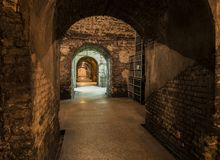 Cavernes Castellane Epernay Photographie stock