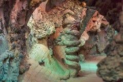 Cavernes colorées Photos stock