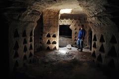 Cavernes d'Amatzia - Israël Image libre de droits