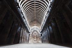 Cavernes d'Ellora, Aurangabad photos stock