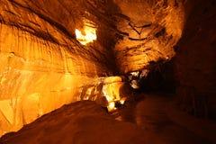 Cavernes d'Ogof y Daren Cilau Photo stock
