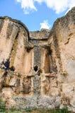 Cavernes dans Anatolie, Turquie Image libre de droits