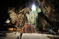 Cavernes de Batu Images libres de droits