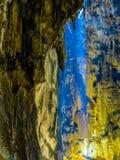Cavernes de Batu, intérieures images libres de droits