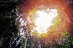 Cavernes de Batu près de Kuala Lumpur Images stock