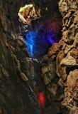 Cavernes de Borra et x28 ; vishakapatnam& x29 ; images libres de droits