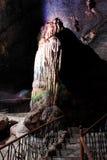 Cavernes de Borra, vallée d'Araku, Andhra Pradesh, Inde Photos stock