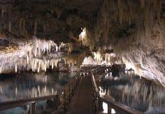 Cavernes de cristal et d'imagination Photographie stock libre de droits