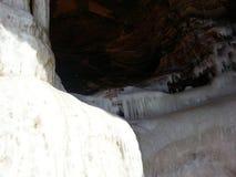Cavernes de glace Photographie stock