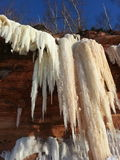 Cavernes de glace Image stock