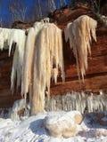 Cavernes de glace Images stock