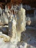 Cavernes de glace Image libre de droits