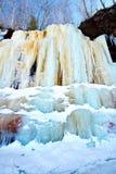 Cavernes de glace d'îles d'apôtre le Wisconsin Photos libres de droits