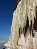 Cavernes de glace sur le lac Supérieur Photo libre de droits