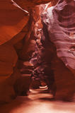 cavernes de gorge d'antilope Photos stock