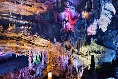 Cavernes de Karst Photos stock
