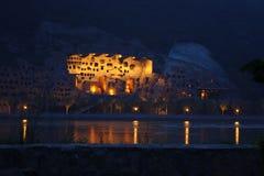 Cavernes de Longmen à Luoyang Photos stock