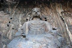 Cavernes de Longmen Photos libres de droits