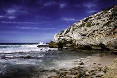 Cavernes de marée basse d'Arniston Images stock
