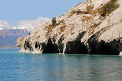 Cavernes de marbre. photo libre de droits