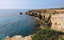 Cavernes de mer Image libre de droits