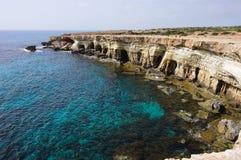 Cavernes de mer Images libres de droits