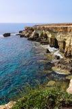 Cavernes de mer Photographie stock